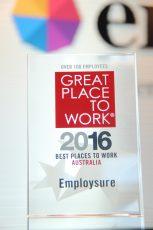 Employsure's GPTW Award 2016