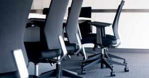 Empty Chair At Desk Smooth Termination Process