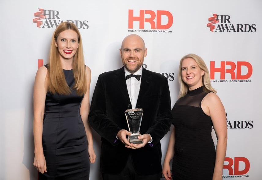 Employsure win HR Team of the Year at Australian HR Awards 2018