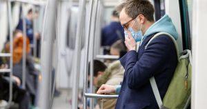 employee going to work during the coronavirus pandemic