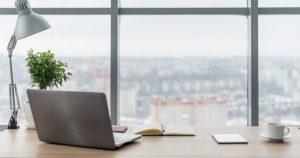 Clean desk to prevent coronavirus at work